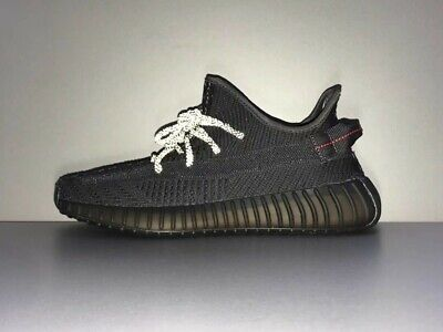 $ CDN256.11 • Buy Adidas Yeezy Boost 350 V2 Static 3M Running Trainers Shoes All Black
