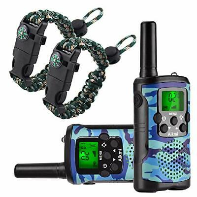 $ CDN48.16 • Buy Aikmi Walkie Talkies For Kids 22 Channel 2 Way Radio 3 Miles Long Range Handh...