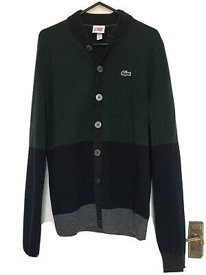 Mens Lacoste LIVE Cardigan (Size: XS) ASNEW • 24.95£
