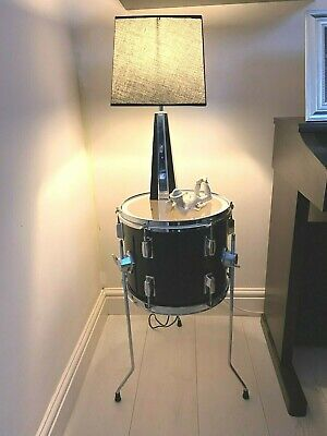 Up-cycled Quirky Drum Table Cool Retro Furniture With Storage FREE P&P • 109.99£