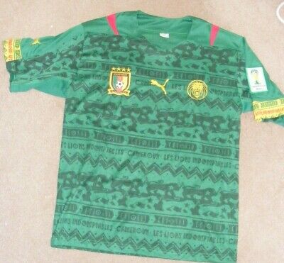 £20 • Buy Cameroun / Cameroon 2014 World Cup Football Shirt (possibly Unofficial)