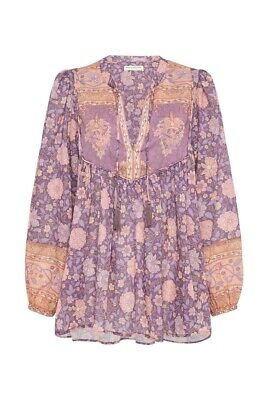 AU250 • Buy Spell And The Gypsy Love Story Blouse Lilac Size XXS