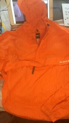 Peter Storm Kids Orange Cagoule In A Bag Age 13 Used Great For Rucksacks  • 1£