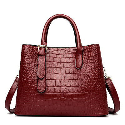 $ CDN70.56 • Buy Women's Handbags 2021 New Fashion Crocodile Pattern One-shoulder Messenger Bag