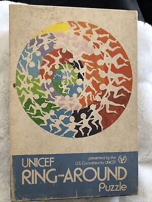 $ CDN31.51 • Buy Vintage UNICEF Ring-Around Puzzle Complete 500 Pieces Signed Freund