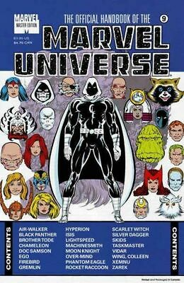 $3.75 • Buy Official Handbook Of The Marvel Universe Master Edition (1990) #   9 (3.0-GVG)
