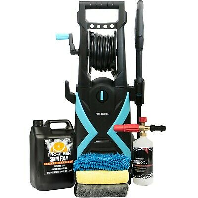 £169.95 • Buy ProKleen Electric Pressure Washer High Power Jet Car Wash Kit Patio Cleaner