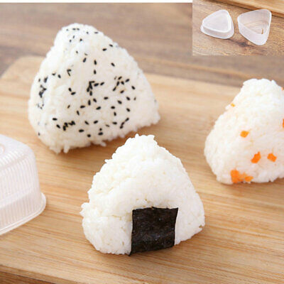 Onigiri Sushi Molds Triangle Rice Mould Rice Mold Musubi Triangle DIY Tools • 2.72£