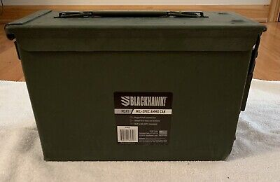 $50 • Buy Brand New Blackhawk M2A1 Mil-Spec .50 Ammo Can Made In The USA