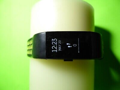 AU24.54 • Buy FITBIT Charge 2 Activity Tracker + Heart Rate Black/Green OLED