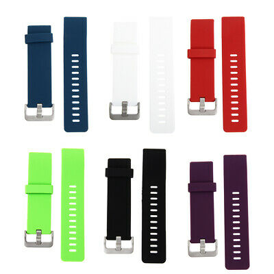AU4.92 • Buy Silicone Watch Band Replacement Sport Strap For Fitbit Blaze Smart Watch