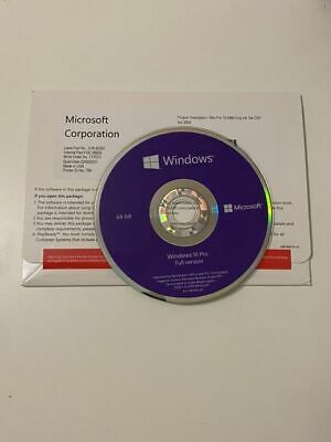 $ CDN57.09 • Buy Microsoft Windows 10 Pro Professional 64 Bit DVD&HDD OEM (READ DESCRIPTION)