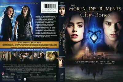 The Mortal Instruments (City Of Bones) (DVD) Proceeds To RSPCA • 2.99£