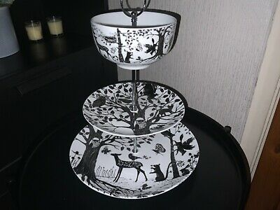 £22 • Buy Enchanted Forest 3 Tier Cake Stand