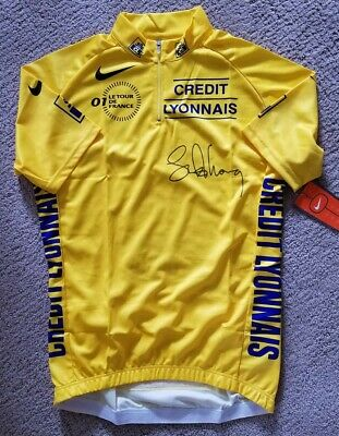 NWT NIKE 2001 Tour De France Yellow Jersey - Signed By Lance Armstrong  • 108.54£