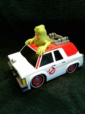 Ghostbusters Electric Ecto-1 RC Toy Car W Glowing Slimer (2016) No Remote • 4.34£