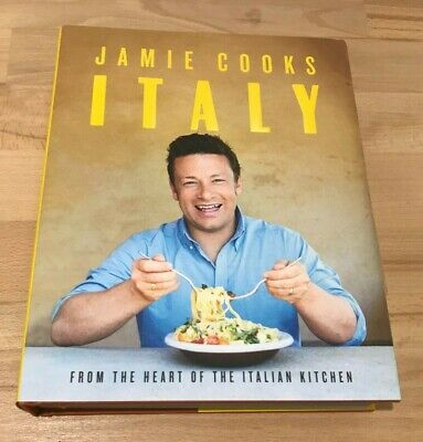 AU24.50 • Buy Jamie Cooks Italy By Jamie Oliver (Hardcover Book) Free Post