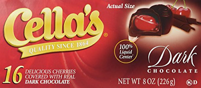 $19.99 • Buy Cella's Dark Chocolate Covered Cherries, 16 Count Pack Of 1
