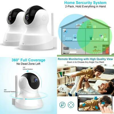 £84.94 • Buy Tenvis Home Security Camera - 1080P Fhd Pet Cameras (2-Pack), Home Security Syst