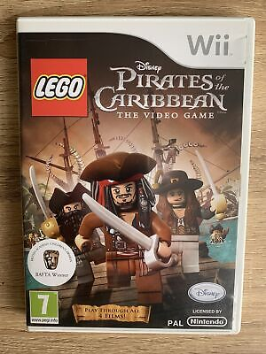 Lego Pirates Of The Caribbean Wii Boxed & Complete PRISTINE MINT DISC • 6.99£