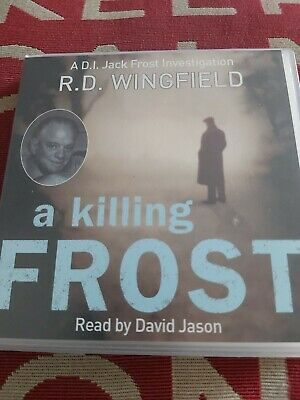 A Killing Frost: (Di Jack Frost Book) By RD Wingfield, CD-Audio Book • 5.99£