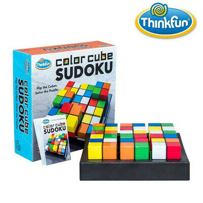 Thinkfun Color Cube Sudoku Game -  One Puzzle, Half A Million Solutions! • 17.29£