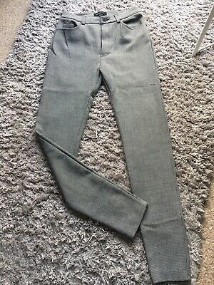£10 • Buy Mango Grey Dogtooth Check Suit Trousers Size 6