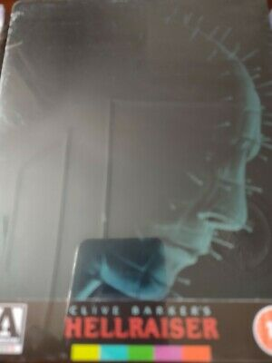 Hellraiser Blu Ray Steelbook Limited Edition Arrow Video New And Seal D • 23£