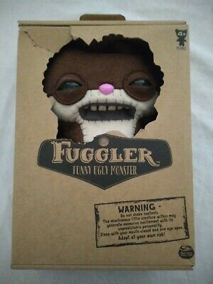 $ CDN44.40 • Buy Fuggler Funny Ugly Monster 9 Inch Plush Toy Pink Nose Green Eyes