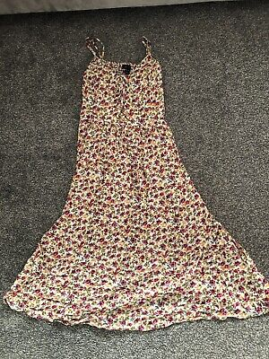 New Look Floral Summwr Dress • 7£