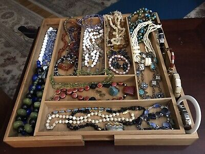 $ CDN19.03 • Buy 3 + Pound Costume Jewelry Lots Vintage To Now -  Some Baubles & Glass Beads