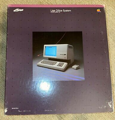 £253.24 • Buy Apple Lisa Computer Office System Software 914-0175-A  1 2/5 2/10 Macintosh XL