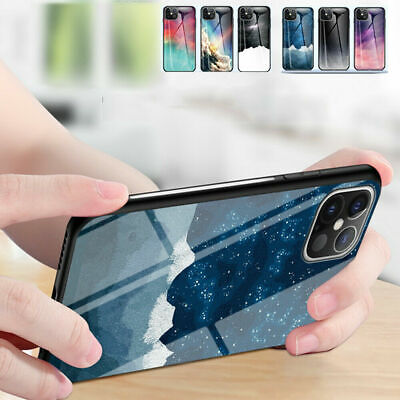 AU14.99 • Buy Case For IPhone 12 Pro 6 11 Pro Max 8 Plus SE 2020 Gradient Tempered Glass Cover