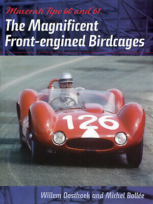 £85.62 • Buy Maserati Tipo 60 61 Front-Engined Birdcage (Le Mans Targa Florio) Buch Book