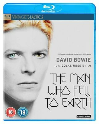 The Man Who Fell To Earth Blu-Ray (2016) David Bowie, Roeg (DIR) Cert 18 • 12.75£