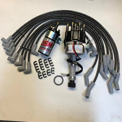 AU254.95 • Buy HOLDEN 253 308 Electronic Distributor Kit Up-Grade With Dizzy COIL LEADS