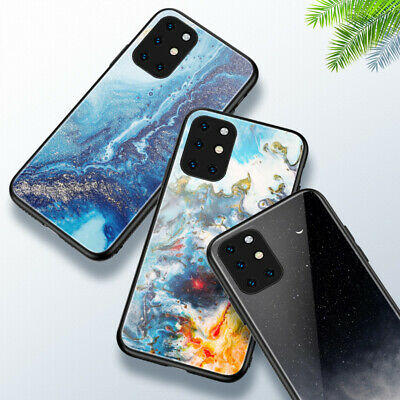 AU14.56 • Buy Abstraction Paint OnePlus 5 6 7 8 T Pro Tempered Glass Cover Case