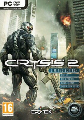 £2.51 • Buy Crysis 2 - Limited Edition (PC DVD) PC Fast Free UK Postage 5030930096816