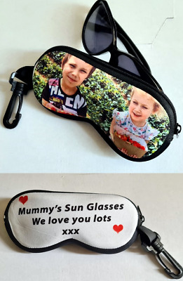 £15.99 • Buy Glasses Pouch/case Custom Made With Your Own Photo