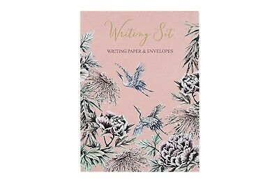 £6.90 • Buy Writing Set Floral Illustrated Writing Paper & Envelopes 20 Each
