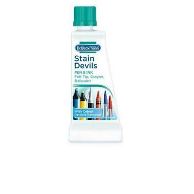 Dr Beckmann Stain Devils Removes Lubricant & Grease. Tar, Wax, Motor Oil 50ml • 3.99£