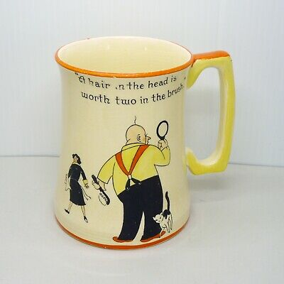 $ CDN28 • Buy Vintage Royal Winton Grimwades Mug Cup Cartoon Figures England Funny