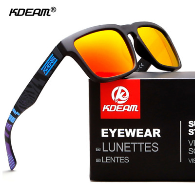 AU16.33 • Buy Kdeam Mens Polarized Sunglasses Outdoor Sport Driving Glasses  YGG