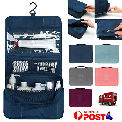 AU12.85 • Buy Travel Cosmetic Storage MakeUp Bag Folding Hanging Toiletry Wash Organizer Pouch