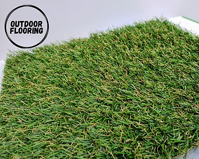 £11.75 • Buy 20mm Artificial Fake Grass Turf Offcut Remnant- 80cm X 80cm