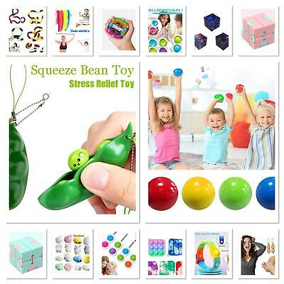 $ CDN7.70 • Buy Sensory Infinity Cube Stress Fidget Toys Game Autism Anxiety Relief Kids Adult💕