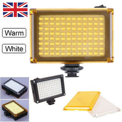 Bright 96 LED Studio Video Light For DSLR Camera Camcorder Photography Photo UK • 10.90£