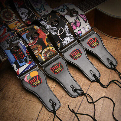 AU27.50 • Buy 156cm Adjustable Guitar Strap For Electric Acoustic Classical Guitar Gift Box