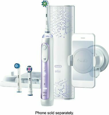 AU154.54 • Buy Oral-B 8000 Electronic Power Rechargeable Battery Toothbrush, Orchid Purple