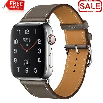 $ CDN6.61 • Buy High Quality Genuine Leather Watch Band For Apple Iwatch 38mm/40mm 42mm/44mm